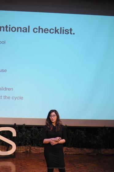 Prithika Madhavan at TEDxJIS 2017