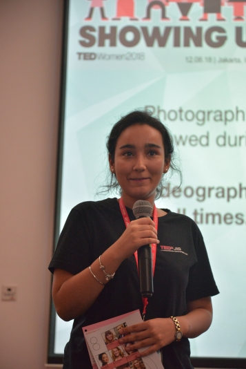 First-time organizer Sargun was host