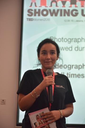 First-time organizer Sargun was host