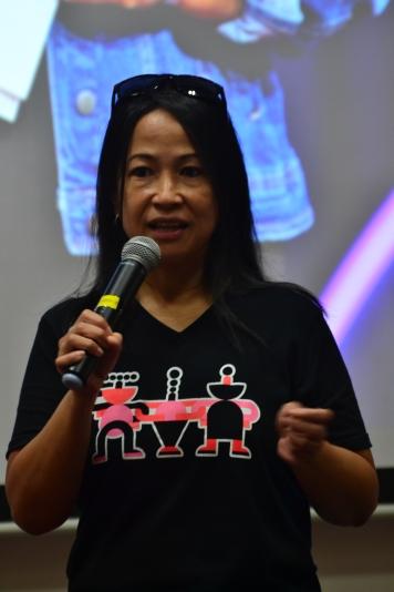 Lane talks about TEDWomen 2018