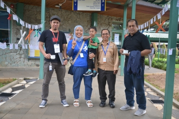 TEDxJIS support staff members