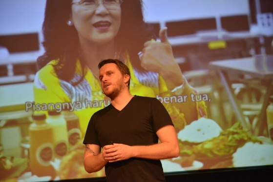 Beata's son Piotr, formerly of Go-Jek, is a JIS alumnus