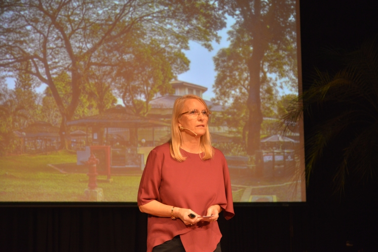 Beata, founding advisor of TEDxJIS, has taught at JIS for 36 years